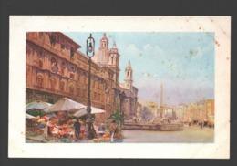 Roma - Piazza Navona - Illustrazione - Places & Squares