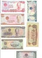 Vietnam 1+1+2+100+200+500+10000 Dong   LOTTO 2910 - Vietnam