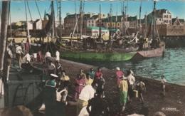 *** 56  ***  PORT LOUIS Débarquement Du Bâteau Venant De Lorient  Timbrée TTB 1956 - Port Louis
