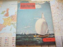 France Illustration Le Monde Illustré N° 412 Juillet 1954 Yachts De Course - Testi Generali