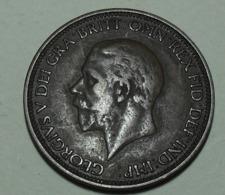1935 - Grande Bretagne - Great Britain - HALF PENNY, GEORGE V, Smaller Head, KM 837 - 1902-1971 : Monete Post-Vittoriane