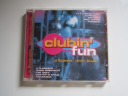 CD CLUBIN'FUN LA COMPIL 100 % CLUB - Compilations