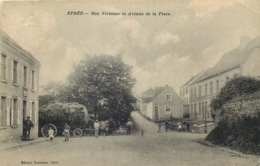 BELGIQUE  BEAUMONT Strée  Rue Vivienne - Beaumont
