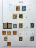 Switzerland/Suisse/Suiza/Svizzera Old Collection In Davo Album + 46x FDC 2008/2010 - Timbres