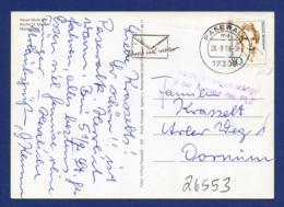 Stempel: Verzögert Wegen Mängel Bei Angabe Der Postleitzahl - Pasewalk 1996 - Marcophilie - EMA (Empreintes Machines)