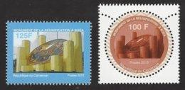 Cameroon Cameroun 2015 Buea Re-unification Monument Mint Set - Kameroen (1960-...)