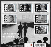 France 2012 Bloc Feuillet N° F4690 Neuf Célébrités La Croix Rouge Au Prix De La Poste - Blocs & Feuillets