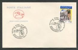 FDC ITALIA 2009 - CAVALLINO - FESTIVAL INTERNAZIONALE DELLA FILATELIA - GIORNATA DELLO SPORT - BARTALI - 903 - 6. 1946-.. Republik