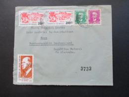 Brasilien / BRD 1965 Social Philately Brief An Den Bundespräsidenten Heinrich Lübke Luftpost / Airmail - Cartas