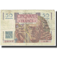 France, 50 Francs, 1947, 1947-03-20, TTB, Fayette:20.7, KM:127b - 1871-1952 Circulated During XXth