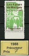 1988  Vignette Précurseur Des Blocs Marigny - Other