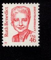848491948 1995 SCOTT  2938 POSTFRIS MINT NEVER HINGED EINWANDFREI (XX)  GREAT AMERICANS RUTH BENEDICT - Nuovi