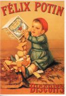 Lot De 8 Cartes Modernes (années 90). Reproduction Affiche Sur L'alimentation - Pubblicitari