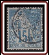 Colonies Générales - N° 51 (YT) N° 51 (AM) Oblitéré De Anse-Bertrand / Guadeloupe. - Alphée Dubois