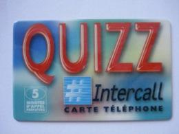 """Carte Prépayée Française """" Intercall """" (utilisée Luxe). Petit Prix ! - France"""