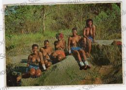 Zulu Zulus Thousand Hills - NATAL - South Africa - Girl Woman Ragazza Nude - Sud Africa