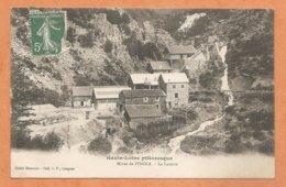 HAUTE- LOIRE PITTORESQUE - Mines De PINOLS - La Laverie -- MINES - Voyagée 1917 - Sonstige Gemeinden