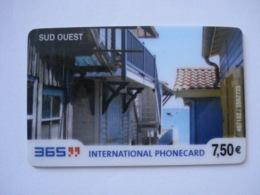 """Carte Prépayée Française """" 365 """" (utilisée Luxe). Petit Prix ! - France"""