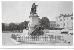 46 - CAHORS - LE MONUMENT GAMBETTA - Ed. ETOILE - Cahors