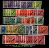 Österreich - Aus Mi. Nr. 228 - 42 In Postfrisch + Ungebraucht - 1850-1918 Imperium