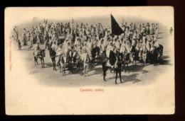 C2254 TUNISIA - FOLKLORE ETHNICS PEOPLE COSTUMES - CAVALIERS ARABES ARAB KNIGHTS - 38 PHOTO GARRIGUES - Tunisia