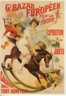 Lot De 10 Cartes Modernes (années 90). Reproduction D'affiches - Pubblicitari