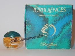 REVILLON : Miniature De Collection. Turbulences.  Parfum De Toilette 2 Ml. - Miniatures Femmes (avec Boite)