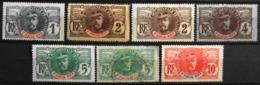 France (ex-colonies & Protectorats) > Haut-Sénégal Et Niger (1904-1921) - 1906 Collection - Neufs*/O - Nuovi