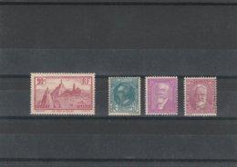 France Année 1933 Complète Neufs** TBE N° 290 à 293 - ....-1939