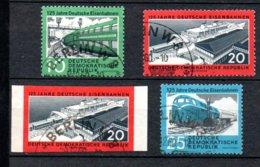 DDR  804  -  806  + 805 B  Gestempelt - DDR