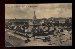 C2262 BRASIL BRAZIL - RIO DE JANEIRO - PRAÇA 15 DE NOVEMBRO VIAJADA 1911 - Rio De Janeiro