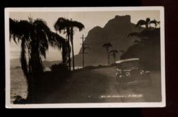 C2266 BRASIL BRAZIL - RIO DE JANEIRO - A. GAVEA COM CARRO - POSTAL FOTOGRAFICO - Rio De Janeiro