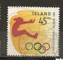Islande Iceland 1998 Jeux Olympiques Olympic Games Obl - Gebruikt