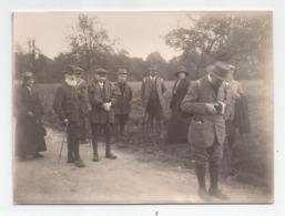 Photographie 91 St Jean De Beauregard Personnes Nommées Mr Colin ..photographe  En 1916 Photo 8,6x11,7 Cm Env - Lugares