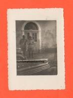 ALPINI Generale Girotti + Colonnello Pezzana 1942 Del 6°Alpi Graje A Danilograd In Montenegro Wear Photo II° WW - Guerra, Militari