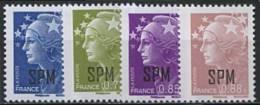 SPM, N° 941 à N° 944** Y Et T - Neufs