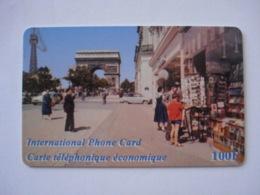 """Carte Prépayée Française """" SWITCHback """"  (utilisée Luxe). Petit Prix ! - France"""
