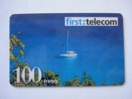 """Carte Prépayée Française """" FIRST TELECOM """"  (utilisée Luxe). Petit Prix ! - France"""