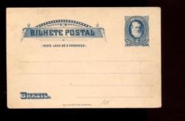 C2278 BRASIL BRAZIL - BILHETE POSTAL - EDITOR AMERICAN BANK NOTE NEW YORK - Brasile