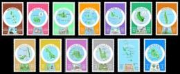 VANUATU 1980 - Yv. 596 à 608 ** TB  Cote= 40,00 EUR - Cartographie  (13 Val) POSTAGE  ..Réf.AFA23274 - Vanuatu (1980-...)