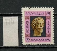 Irak - Iraq 1976 Y&T N°774 - Michel N°842 (o) - 35f Sculpture - Iraq