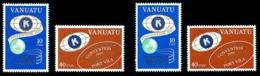 VANUATU 1980 - Yv. 613 614 615 616 ** Variété  Cote= 3,20 EUR - Convention (4 Val.) Légendes Fr. Et Angl.  ..Réf.AFA2327 - Vanuatu (1980-...)