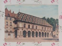 Gray L'hôtel De Ville Carte Couleur Dentelée Haute Saône Franche Comté - Gray