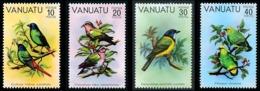VANUATU 1981 - Yv. 620 621 622 623 ** TB  Cote= 6,75 EUR - Série Oiseaux I (4 Val.)  ..Réf.AFA23278 - Vanuatu (1980-...)