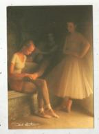 Cp, 170 X 115 Mm , Photographe ,DAVID HAMILTON , Ed. Agep,n° 001 40 , Vierge - Illustrateurs & Photographes