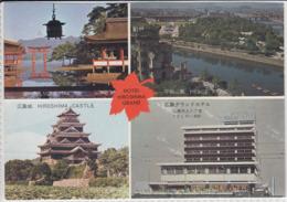 HIROSHIMA - GRAND HOTEL, Castle, Peace Park, Miyajima - Hiroshima