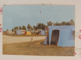 Gray Le Camping Carte Couleur Dentelée Haute Saône Franche Comté - Gray