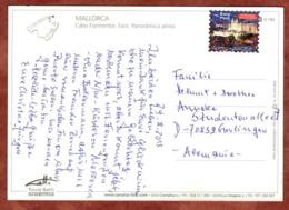 AK Cap Formentor, Easy Post, Mallorca Nach Gerlingen 2013 (80104) - 2001-10 Storia Postale