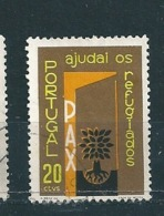 N° 861 Annee Internationale Du Refugie  Timbre Portugal (1959 ) Oblitéré - Oblitérés