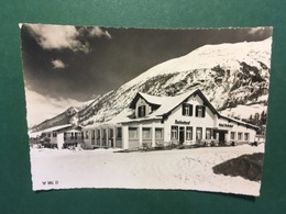 Cartoline Hotel Restaurant Bahnhof - Pontresina - 1960 Ca. - Cartoline
